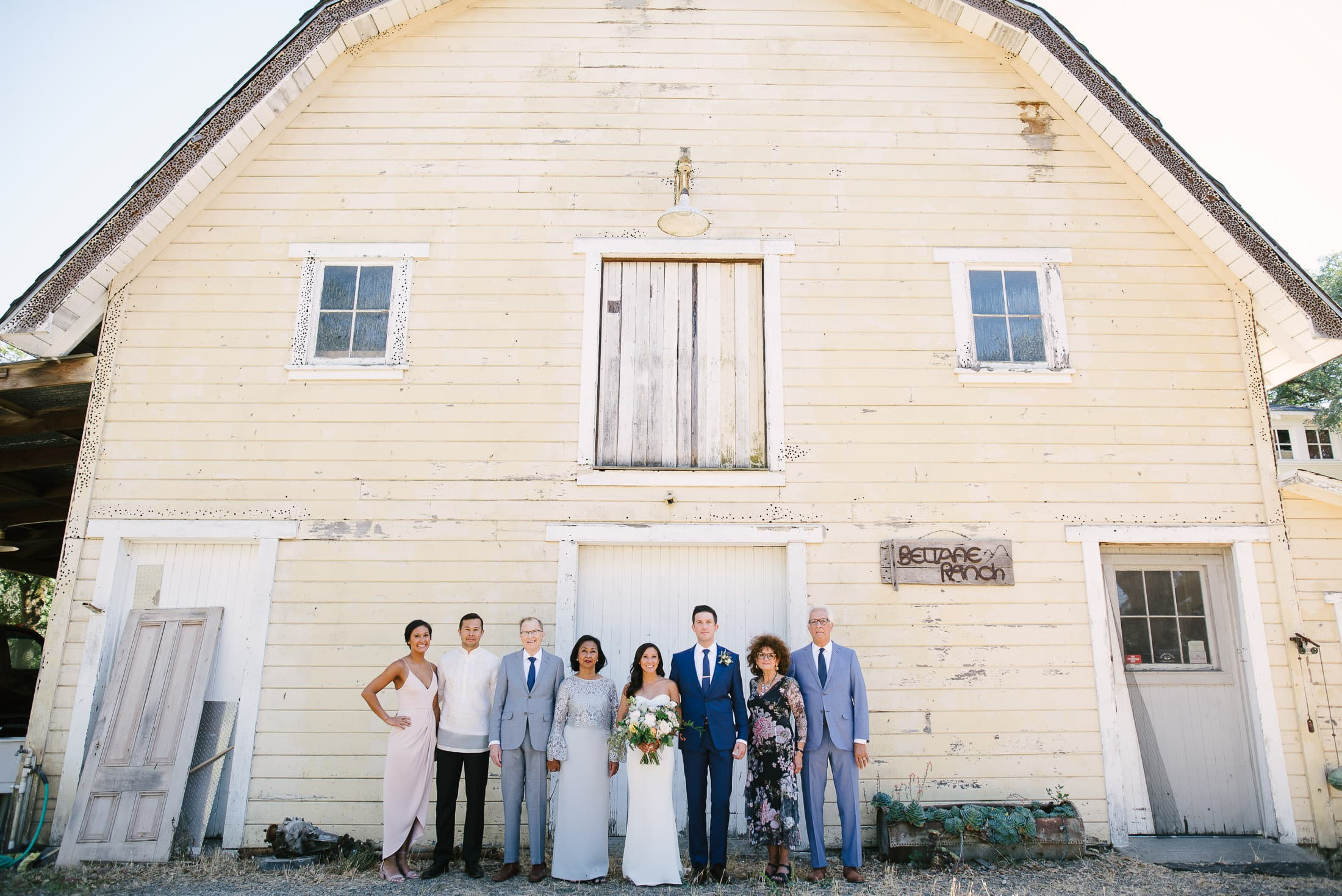 Beltane Ranch Wedding Family Portrait