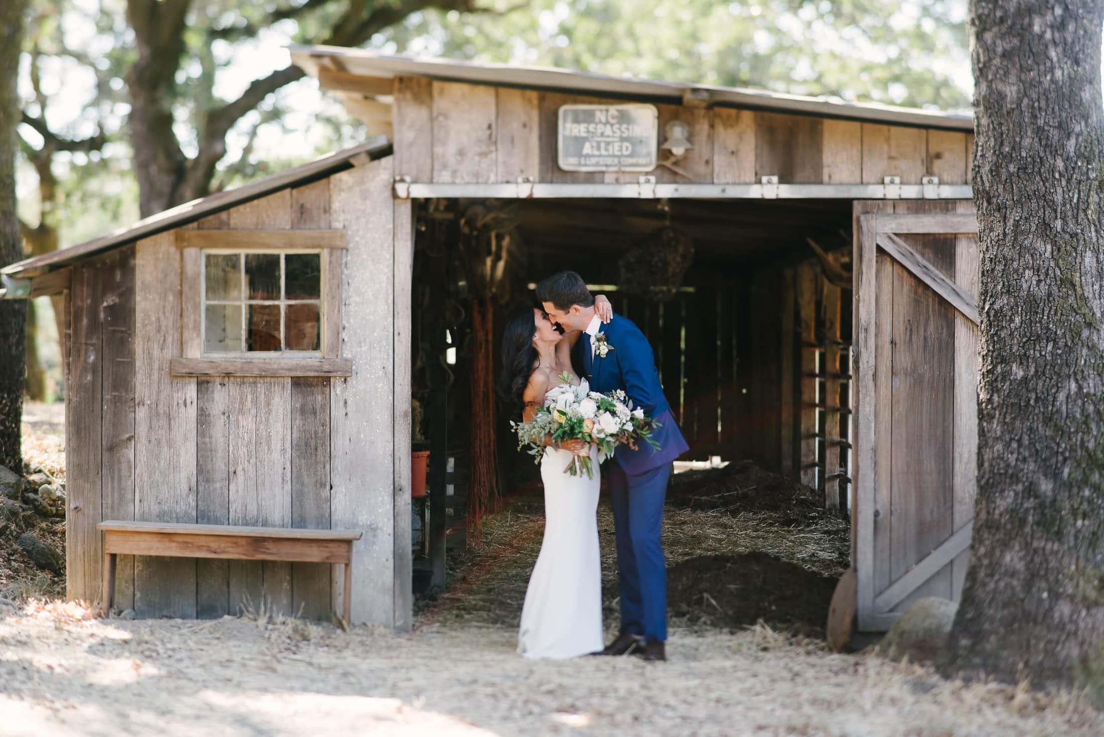 Beltane Ranch Wedding Couple Portrait