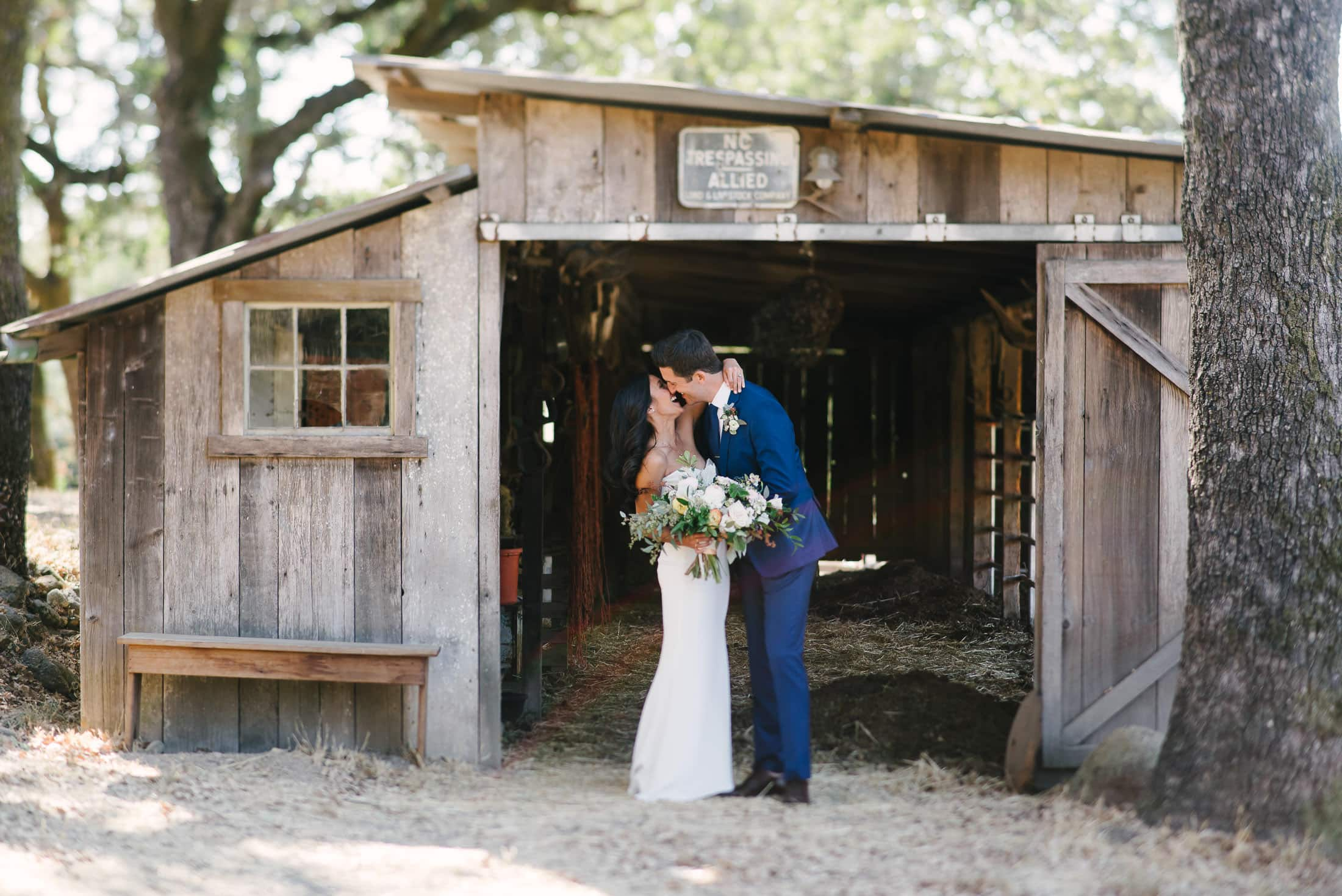 Beltane Ranch Wedding Couple Portrait