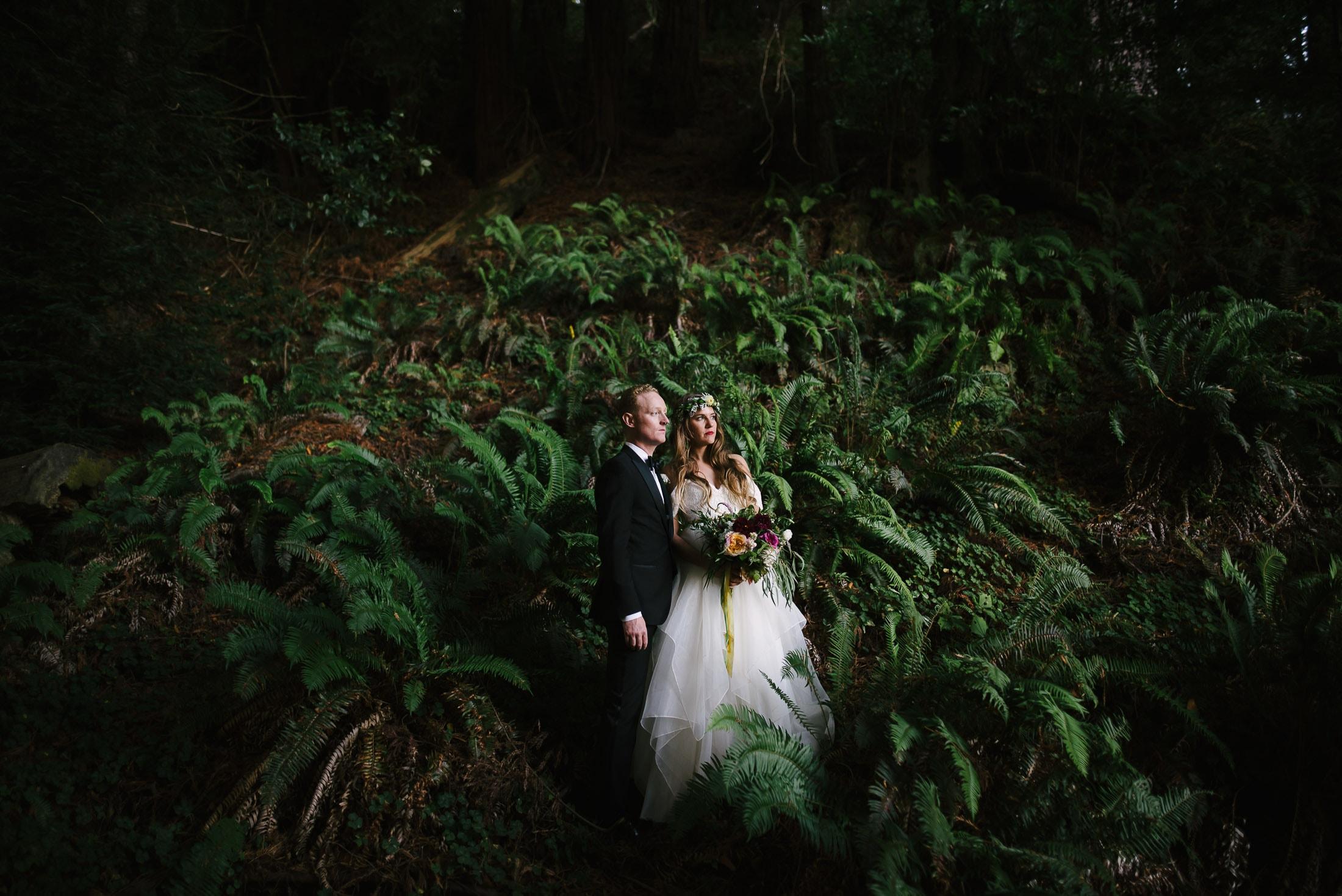 Oz Farm Wedding Portrait