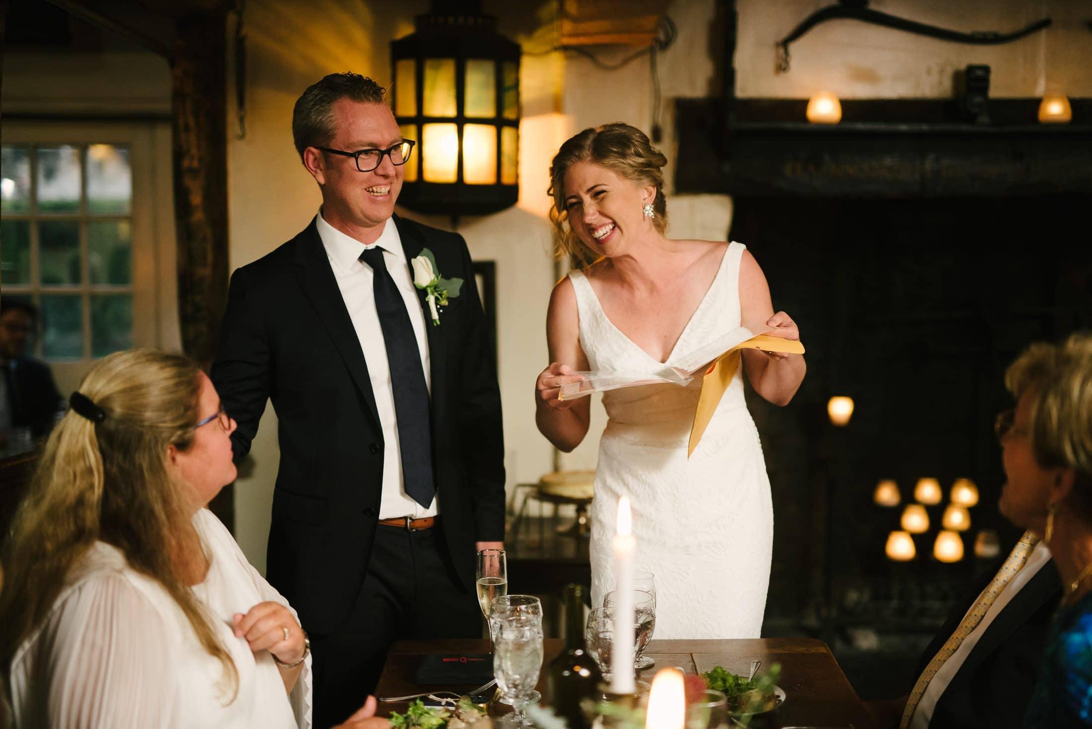 Pelican Inn Wedding