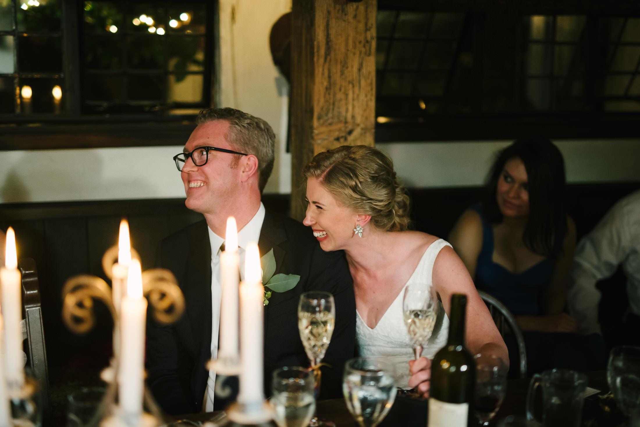Pelican Inn Wedding Reception