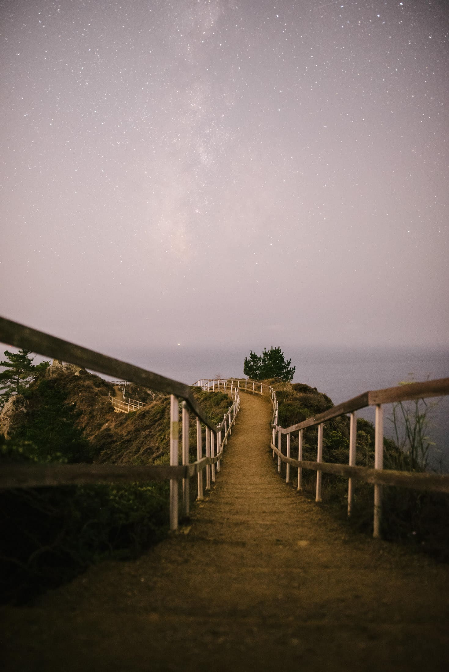 Muir Beach Lookout Night Image
