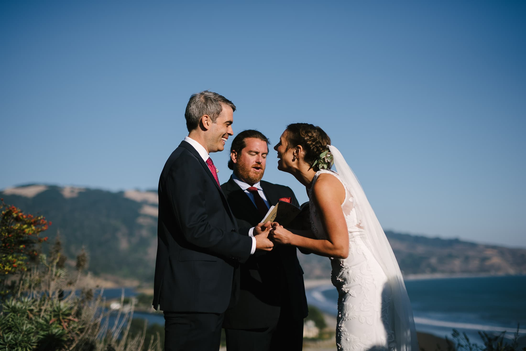 Bolinas Wedding ceremony