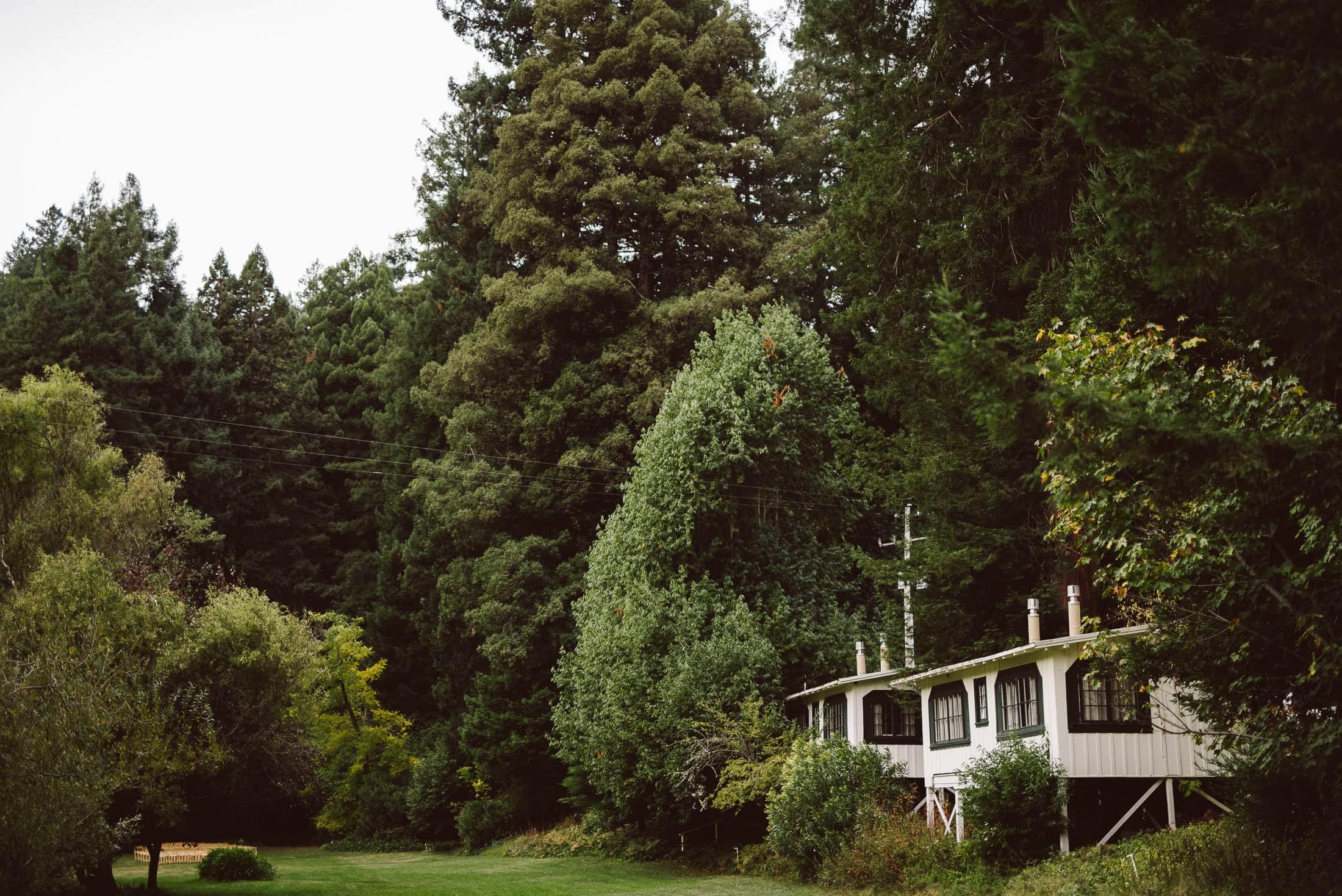 Dawn Ranch Wedding cottage