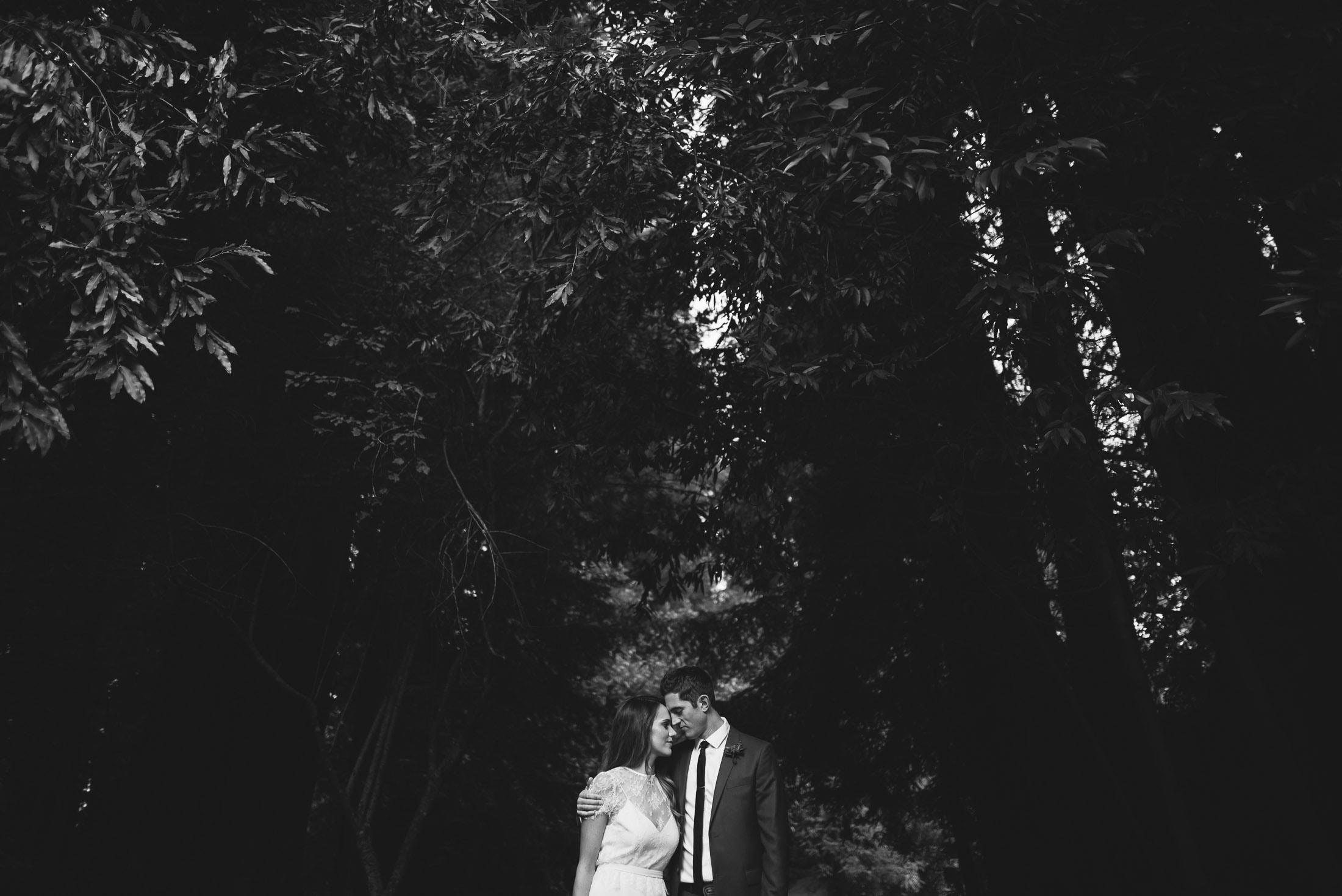 Dawn Ranch Wedding couple portrait