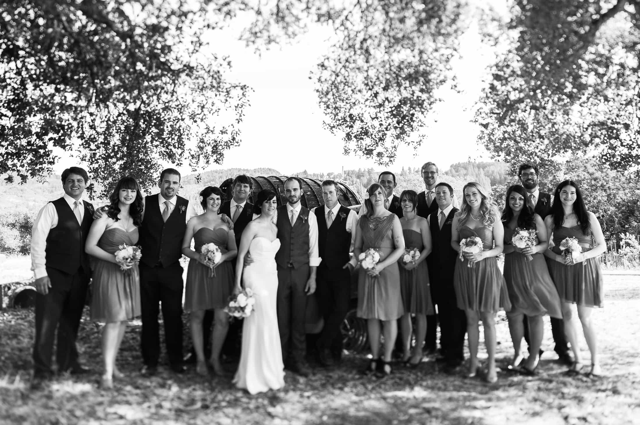 Hans Fahden Winery Wedding