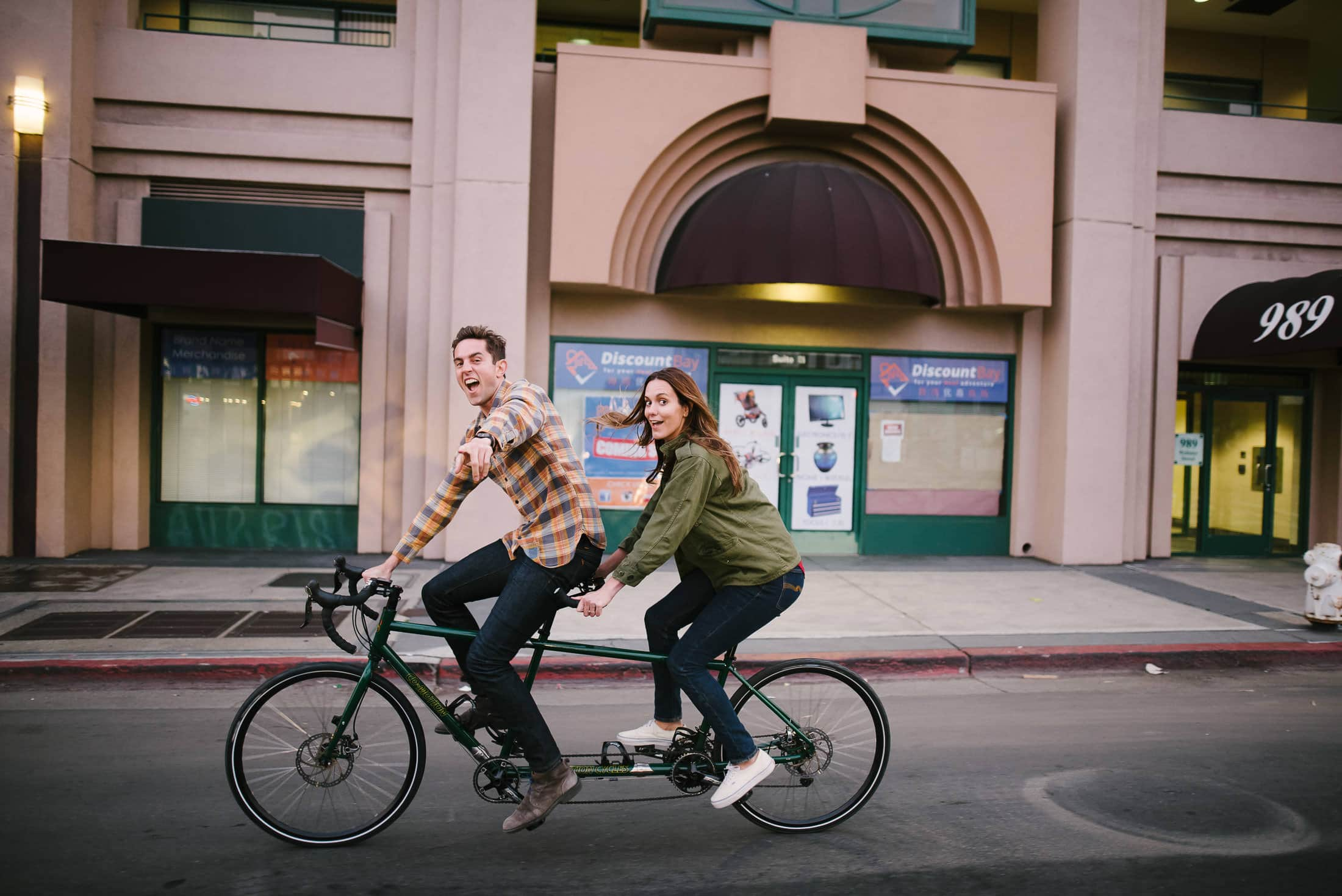 China Town Engagement Session Oakland