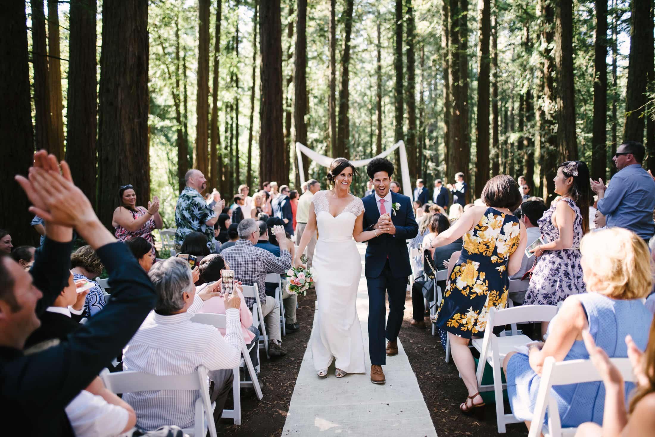 Roberts Regional Recreation Wedding ceremony