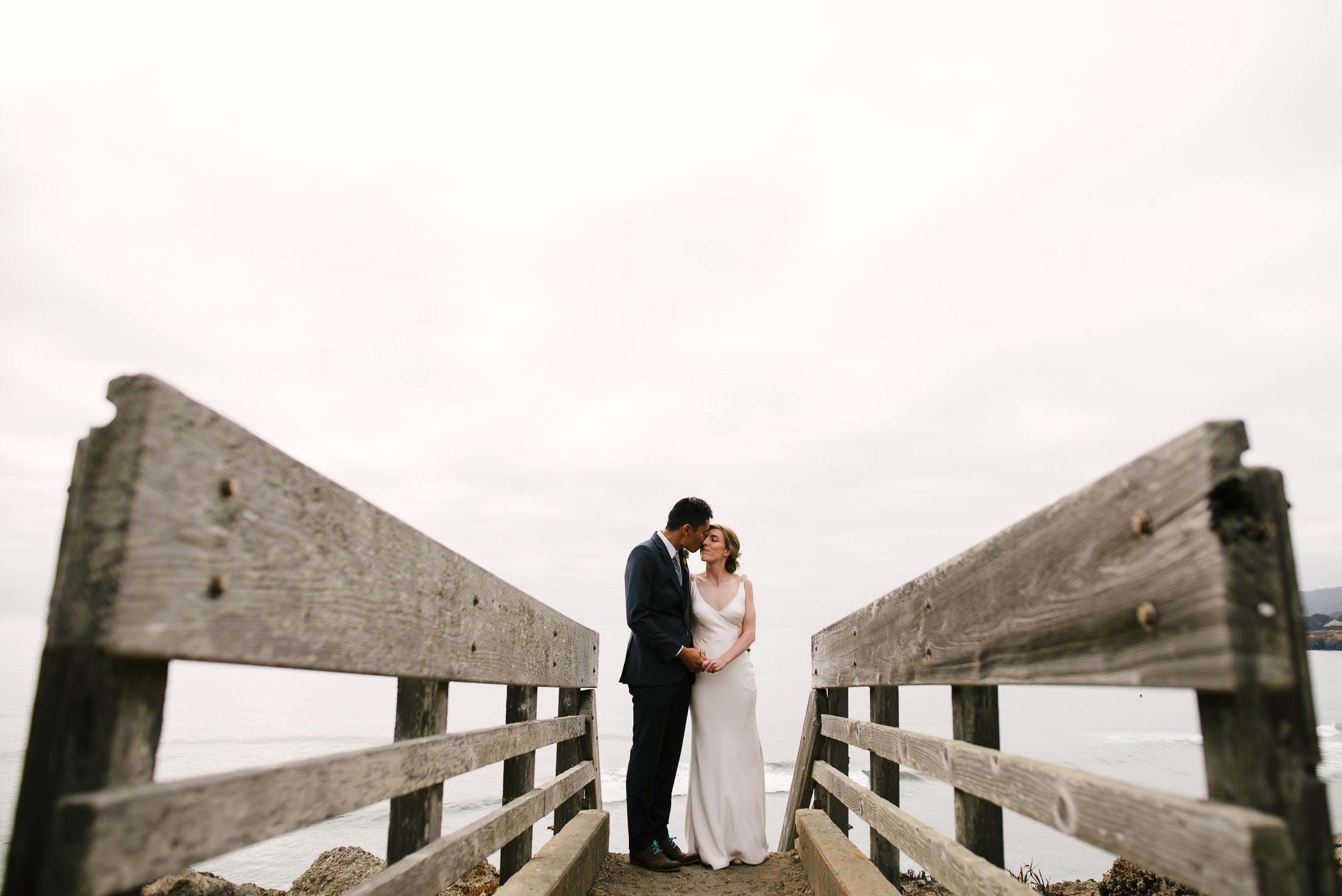 architects sea ranch wedding