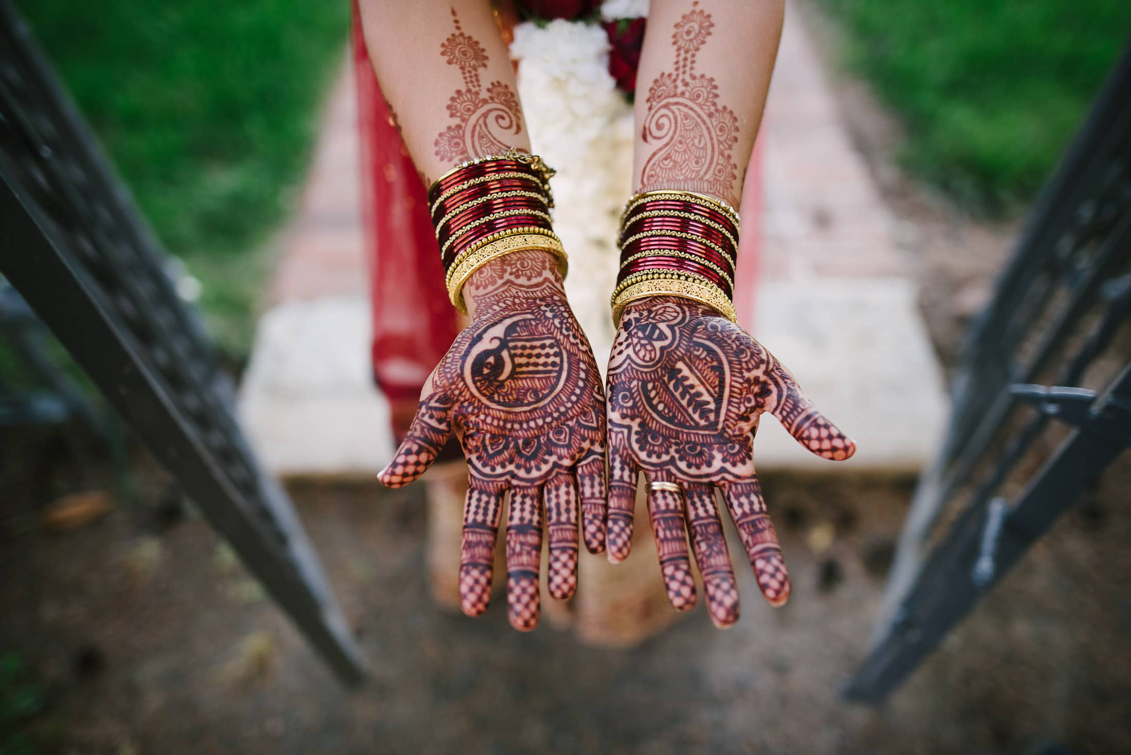 Indian Jewish Triple S Ranch Wedding henna